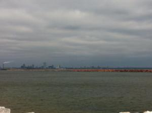 Milwaukee Skyline. This pic. doesn't do it justice.