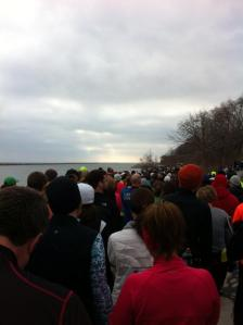 Lots of people about to run this race.